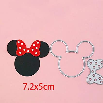 NEW Mickey Minnie Metal Cutting Dies Scrapbooking paper album Card Embossing diy