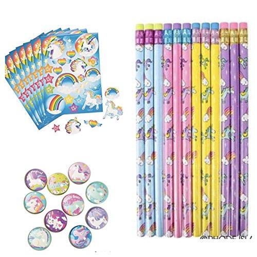 24 Unicorn Pencils~School//Teacher//Classroom Supplies~Student Incentives~Favors
