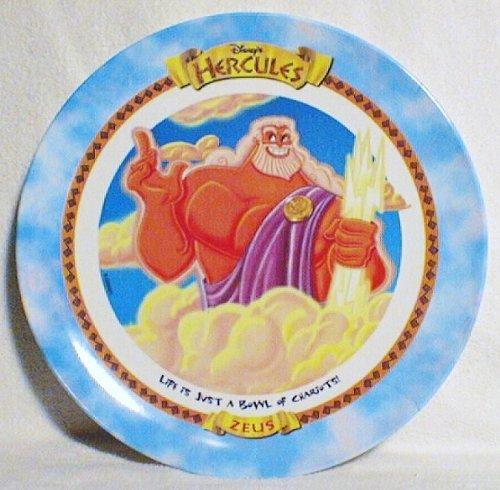 1997 Collectors Plate (Zeus - Hercules - McDonald's 1997 Disney Collector Plate)