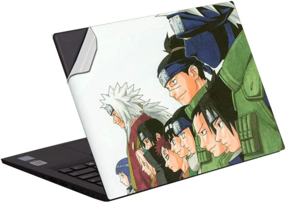 Skins & Decals Laptop Skin Vinyl 15 inch 15.6 inch Anime Decal Notebook Cover Protective Skin Naruto 15.6 inch