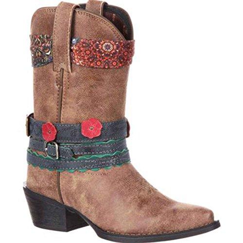 Durango Baby DBT0169 Western Boot, Brown, 8 M US Toddler