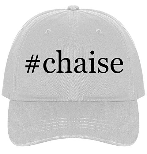 - The Town Butler #Chaise - A Nice Comfortable Adjustable Hashtag Dad Hat Cap, White, One Size
