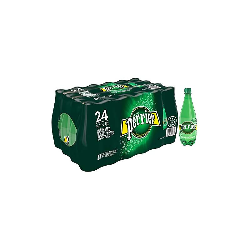 Perrier Carbonated Mineral Water, 16.9 f