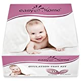 Kyпить Easy@Home 50 Ovulation Test Strips and 20 Pregnancy Test Strips Combo Kit, (50 LH + 20 HCG) на Amazon.com
