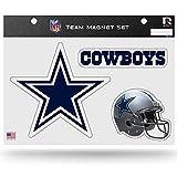 Rico Industries NFL Dallas Cowboys Die Cut Team Magnet Set Sheet