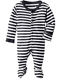 Unisex-Baby Organic Cotton Footed Overall