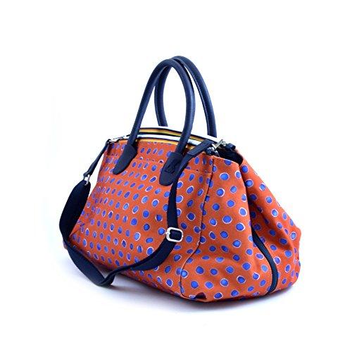 double K Double way Spalla K Big blu Woman Bag Face Handbag Donna Borsa Tracolla wvfWqZU