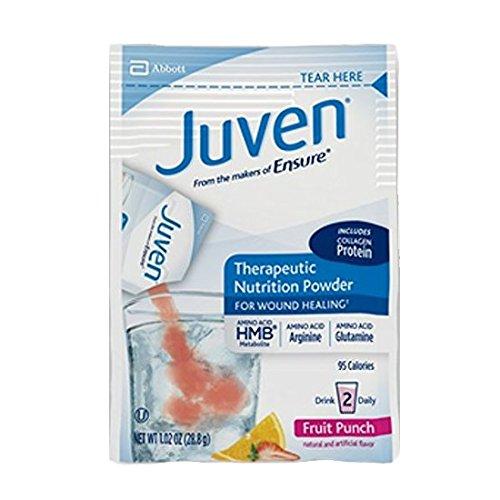 Medline Juven Powder Nutritional Supplement (Fruit Punch, Packaging : 30EachCarton) by Abbott Nutrition (Image #1)