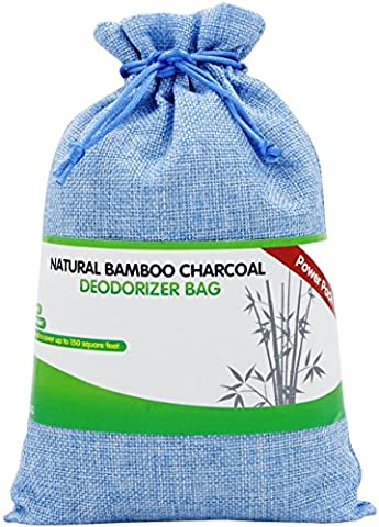 Buy More Save More Great Value SG Natural Bamboo Charcoal Deodorizer Bag Power Pack - MOST EFFECTIVE AIR PURIFIERS for Home, Allergies & Smokers. Portable Odor Eliminator, Car Air Freshener (Sky (Odor Eliminated Candle)