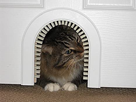 Merveilleux Cat Door   The Original Cathole Interior Pet Door   The Only Cat Door With A