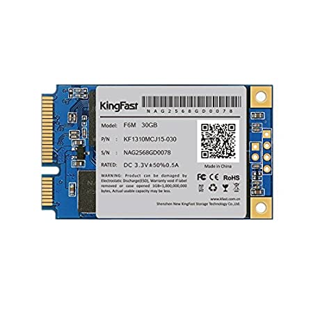 King Fast mSATA 30 GB interno SSD Solid State Drive: Amazon.es ...
