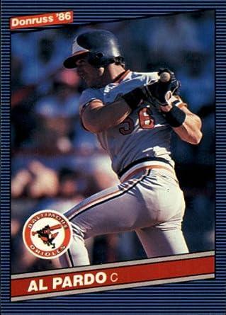 1986 Donruss Baseball Card #489 Al Pardo Mint