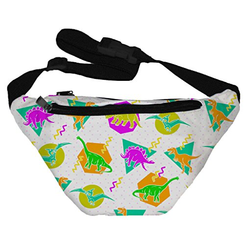 Funny Guy Mugs Dinos Fanny Pack (80s Guys Costume)