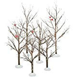 Department 56 Village Accessory Set/6 Birch Trees (56.52623)