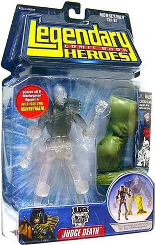 Variant Marvel Enterprises Inc. Judge Death Marvel