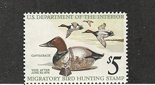United States, Postage Stamp, RW42 Mint NH, Duck Stamp 1975