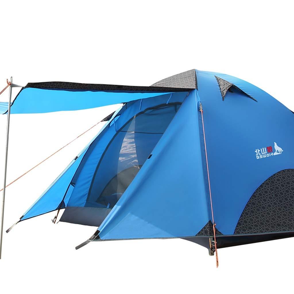 PIGE Outdoor 3-4 Personen Camping Zelt Tourismus Feld Regenschauer Zelte