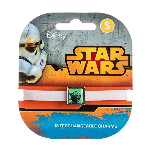 Roxo Star Wars Line Art Yoda 1 Charm Band