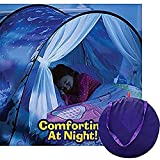Meigirlxy Wonderland Bed Tents for Children, Magical Tent Kids Twin Bed Pop Up