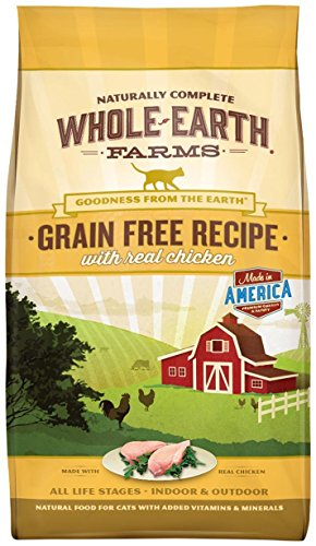 Cheap Merrick Whole Earth Farms Grain Free Dry Cat Food – Chicken – 10 lb