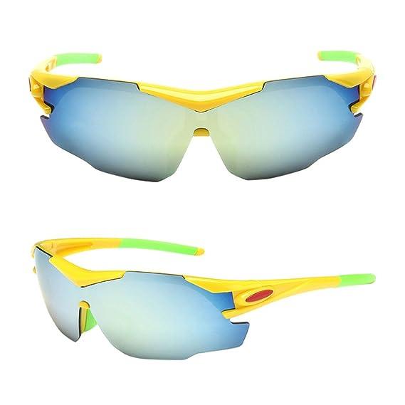 Gafas de Sol Deportivas, Logobeing Bicicletas Gafas de Sol de Ciclismo de Bicicleta al Aire Libre Gafas de Sol Polarizadas Eyewear (F): Amazon.es: Ropa y ...