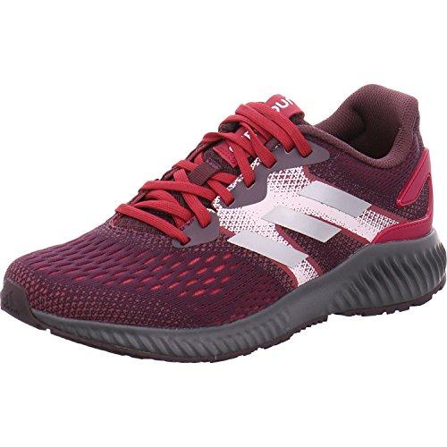adidas Aerobounce W, Zapatillas de Trail Running Para Mujer Rojo (Rojnob/Rubmis/Tinorc 000)