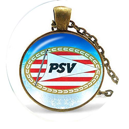 Football Club 25mm Glass Cabochon Necklace Ajax PSV Football Leagues Logo Soccer Club Pendant 3 Necklace Religious Jewelry