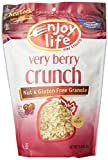 Enjoy Life Very Berry Crunch Granola, Gluten, Dairy, Nut & Soy Free,, 12.8-Ounce Bag (Pack of 6)