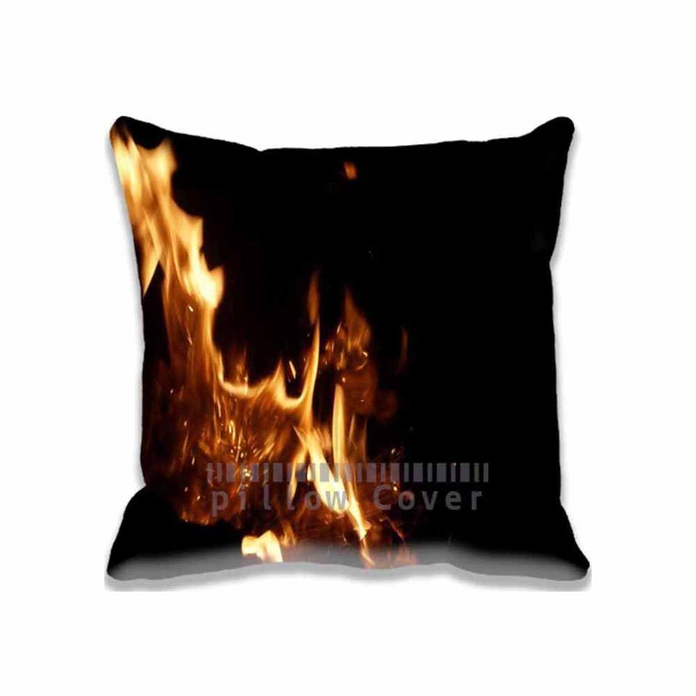 Creative diseño cuadrado manta decorativa Funda de almohada Funda para cojín estufa manta almohadas 20 x 20 dos lados impresos: Amazon.es: Hogar