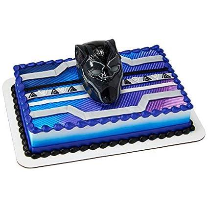 Sensational Decopac Black Panther Warrior King Decoset Cake Topper Decoration Funny Birthday Cards Online Hetedamsfinfo