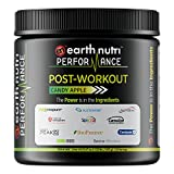 EarthNutri Performance Post-Workout Supplement with BCAAs, L-Alanyl-L-Glutamine, Creatine, Beta Alanine, L-Citrulline, Betaine Anhydrous, Organic PeakO2, Organic Ashwagandha (Candy Apple) Review