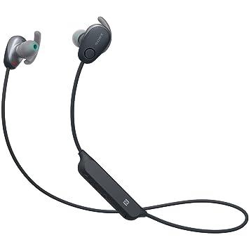 ソニー SONY ワイヤレスノイズキャンセリングイヤホン WI,SP600N BM  Bluetooth対応 NFC接続