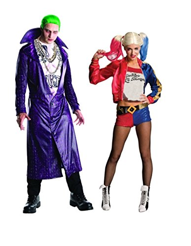 (Wonder Clothing Suicide Squad Joker and Harley Quinn Couples)