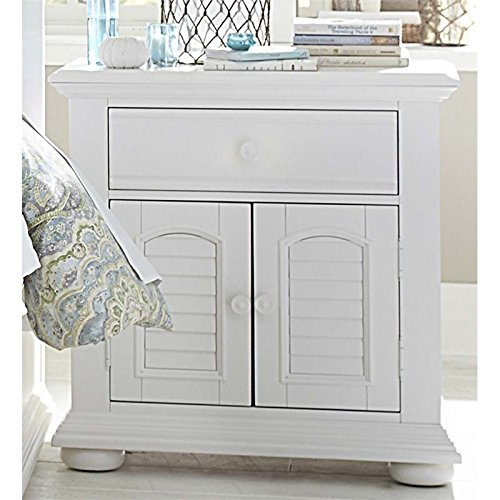 Liberty Furniture 607-BR61 Summer House I 2-Door 1-Drawer Night Stand, 31