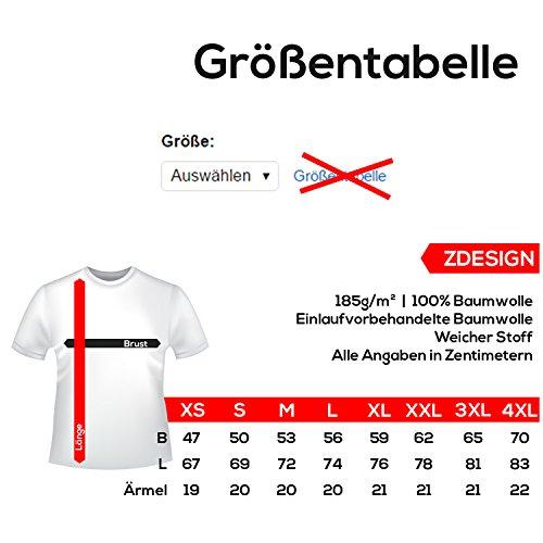 ZDesign 9GAG T-Shirt Harambe Legends never die | Größe XS-4XL | Ideales Geschenk