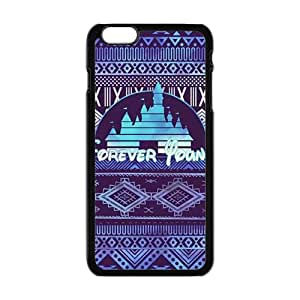NICKER Forever young purple pattern Cell Phone Case for Iphone 6 Plus