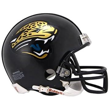 ac6063cf62e Riddell Jacksonville Jaguars NFL Mini Helmet  Amazon.co.uk  Sports    Outdoors