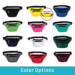 Best Fanny Pack 2019 - Fanny Pack, BuyAgain Quick Release Buckle Travel Sport Waist Fanny Pack Bag