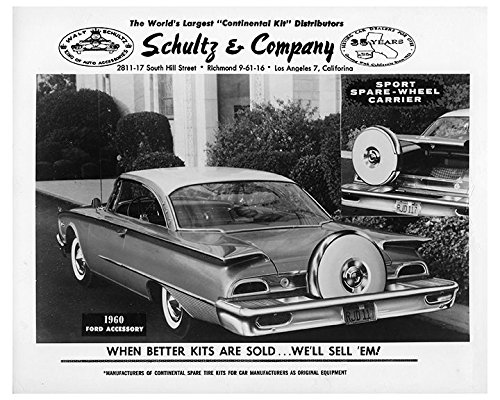 Ford Ad 8x10 Photo - 2