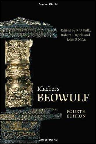 Klaebers Beowulf Fourth Edition