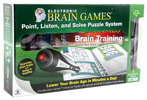 Electronic Brain Games with 6 Puzzle (Electronic Brain Games)