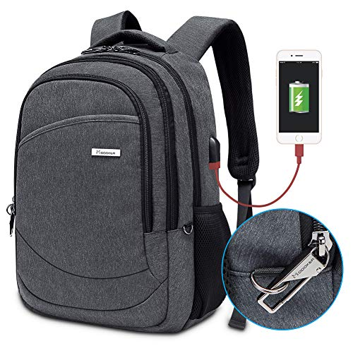 Price comparison product image Modoker Laptop Backpack Bookbags for Men Women,  Anti Theft College Travel Business Backpack,  Lightweight Computer Bag Fits 15.6 Inch Laptop and Notebook