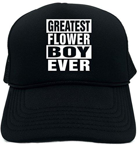 Signature Depot Funny Trucker Hat (Greatest Flower Boy Ever) Unisex Adult Foam - Hat Signature Boys