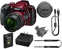 Nikon COOLPIX B700 20.2 MP 60x Opt Zoom Super Telephoto NIKKOR 4K Digital Camera Bundle Set w/ Rechargeable Battery, Charger, Euro Adapter etc