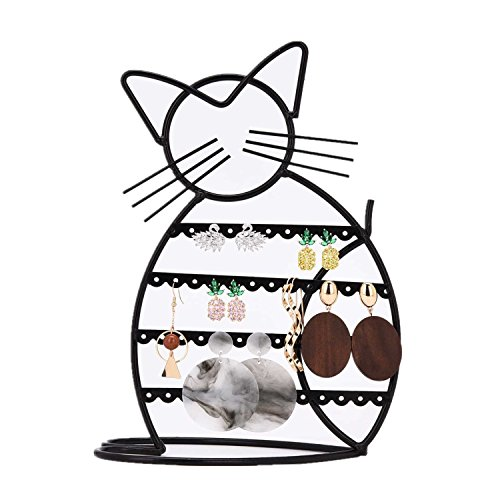 Urban Deco Earring Holder for girls/Earring Display/Earring Stand in Cat Shape, - Tree Earring Display Shape Stand