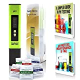 Health Metric Green Digital pH Meter / Tester Full Kit - Suitable For Water, Food, Aquarium, Pool & Hydroponics