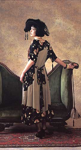 1920s Patterns – Vintage, Reproduction Sewing Patterns 1920 Paris Promenade Dress Pattern $21.44 AT vintagedancer.com
