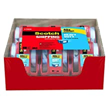 Scotch Heavy Duty Packaging Tape, 1.88 Inches x 800 Inches, 6 Rolls (142-6)