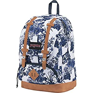 JanSport Unisex Baughman White Artist Rose Backpack