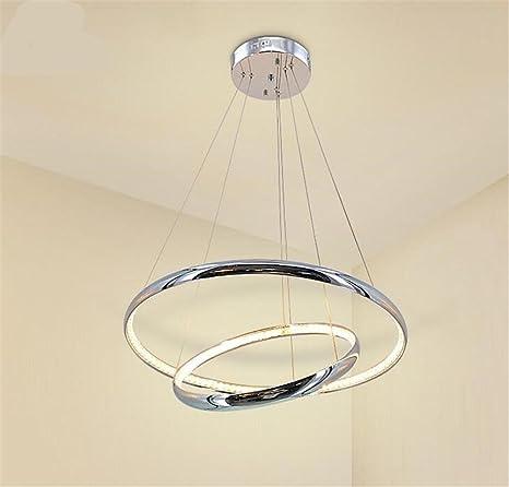 LUCKY CLOVER-A Lámpara de Techo de Cristal de Aluminio ...